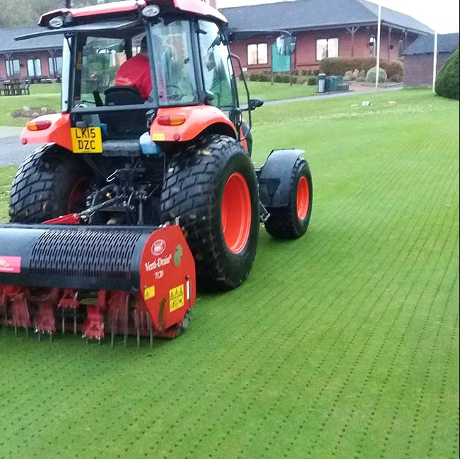 Verti Draining Coventry